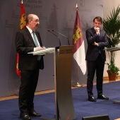 Los tres presidentes autonómicos se han reunido en Soria