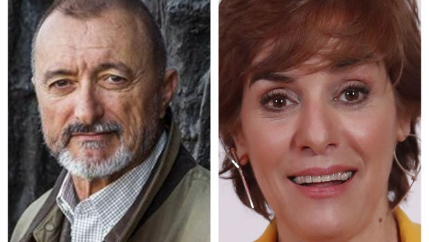Arturo Pérez-Reverte y Anabel Alonso