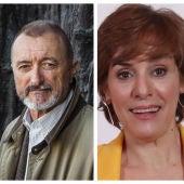 Arturo Pérez-Reverte y Anabel Alonso