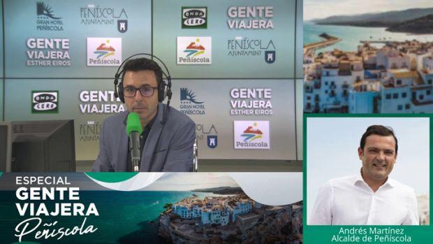 """Andrés Martínez Castellá, alcalde de Peñíscola: """"Peñíscola acertó el día que dijo que quería ser líder en turismo familiar"""""""