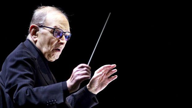 El compositor italiano, Ennio Morricone