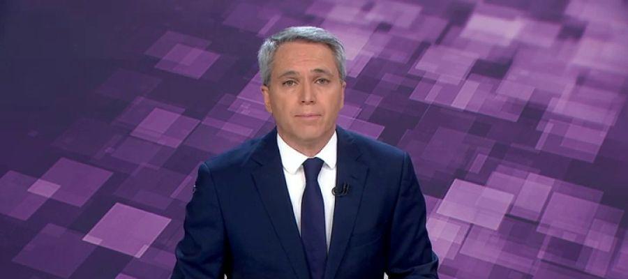 Vicente Vallés, presentador de Noticias 2 en Antena 3