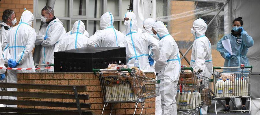 Melbourne, bajo bloqueo en un esfuerzo por frenar la propagación del coronavirus