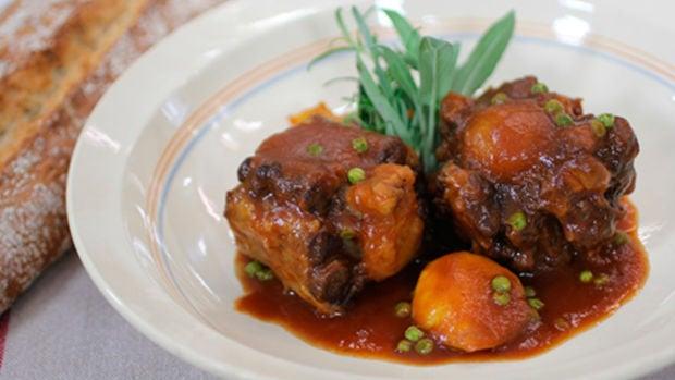 Las recetas de Robin Food: Rabo a la cordobesa