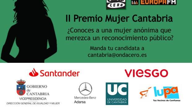 II Premio Mujer Cantabria