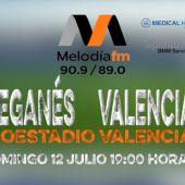 CD Leganes vs Valencia CF