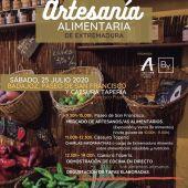 Cartel del Día de la Artesanía Almentaria de Extremadura