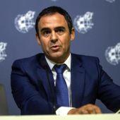 El presidente del Comité Técnico de Árbitros, Carlos Velasco Carballo