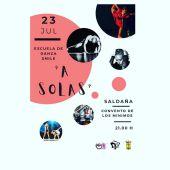 """La Escuela de Danza Smile representa """"A SOLAS"""" en Saldaña"""