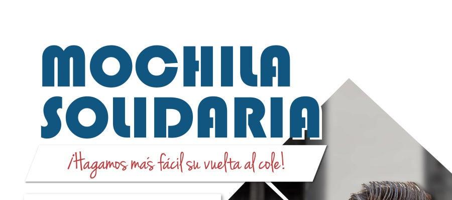 La campaña 'Mochila Solidaria' tiene previsto conseguir 600 mochilas escolares