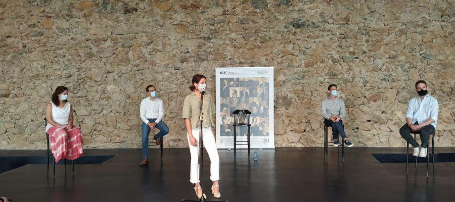 Presentación de la Temporada de conciertos 2020-2021 de la Orquesta de Extremadura