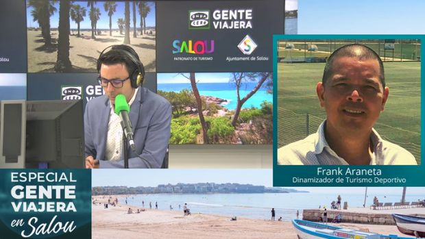 "Frank Araneta: ""El turismo deportivo funciona"""