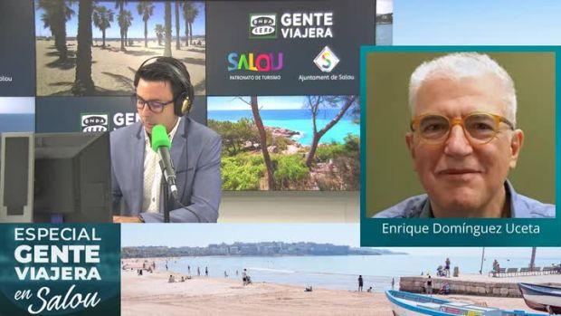 Enrique Domínguez Uceta en Especial Gente Viajera en Salou