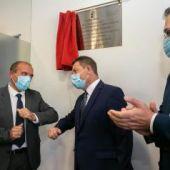 García-Page ha inaugurado el nuevo consultorio local de Arenas de San Juan