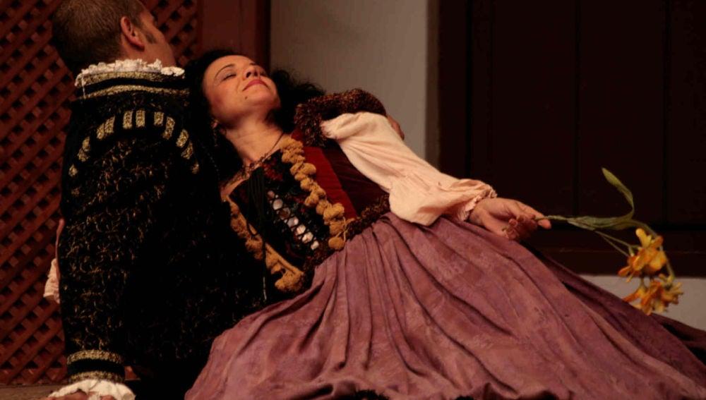 Una representación teatral del Festival de Almagro
