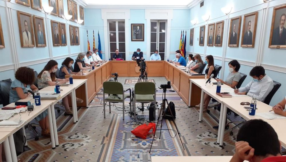 Pleno del Ayuntamiento de Crevillent en una imagen de archivo.