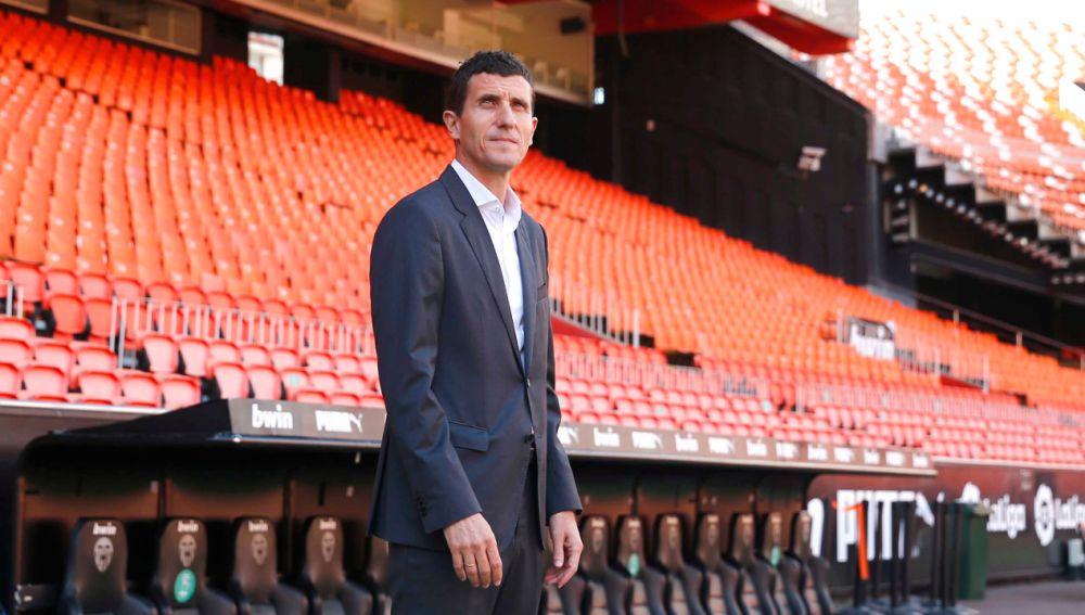 Javi Gracia, nuevo entrenador del Valencia.