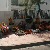 Homenaje a los guardiaciviles asesinados por ETA en Palmanova.