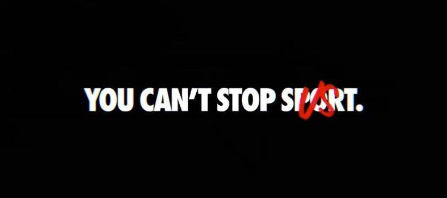 """Nuevo anuncio de Nike """"You can't stop us"""""""