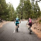 Bicis entre pinares, La Palma