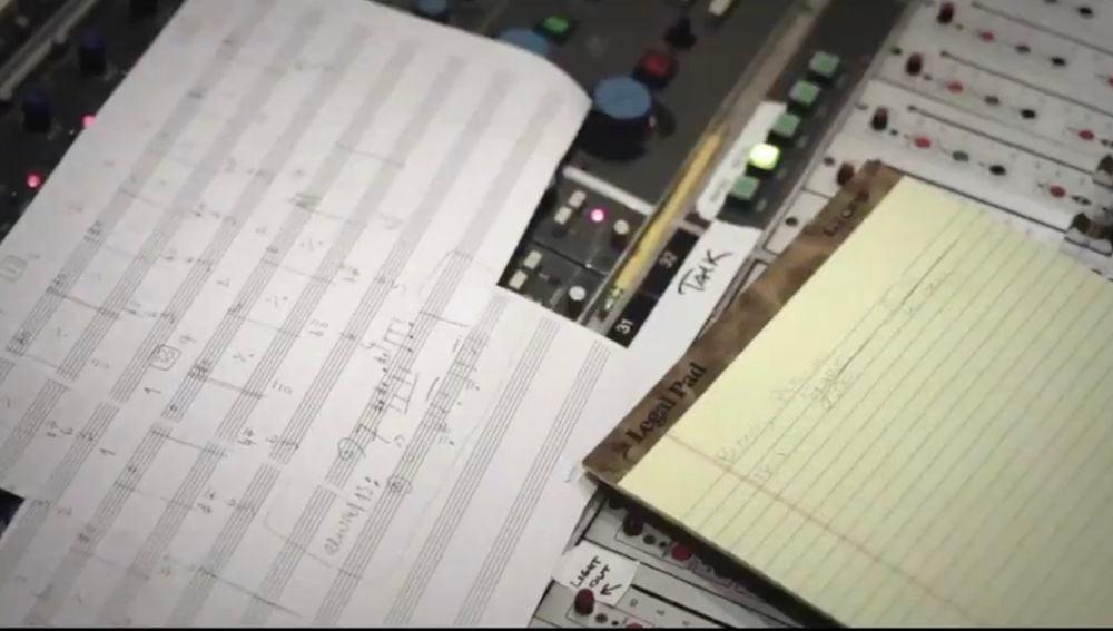 Partituras del compositor Max Richter