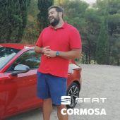 Borja Vivas es el actual campeón español de lanzamiento de peso