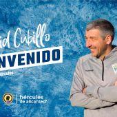 El Hércules anuncia el fichaje de David García Cubillo como nuevo entrenador