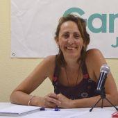 Ángeles -Kika- González, en rueda de prensa