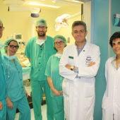 Carlos Moreno junto a compañeros y alumnos