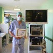 Carlos Moreno cirujano mancha centro