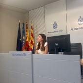 Mariola Galiana, concejala de Sanidad y Cooperación