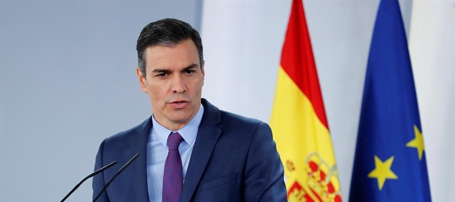 """Pedro Sánchez, sobre la marcha de Juan Carlos I: """"La Casa Real ha marcado distancias frente a supuestas conductas irregulares"""""""