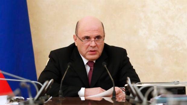 El primer ministro ruso, Mikhail Mishustin