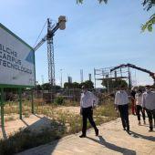 Las obras en el Campus Tecnológico del Parque Empresarial de Elche continúan a buen ritmo.