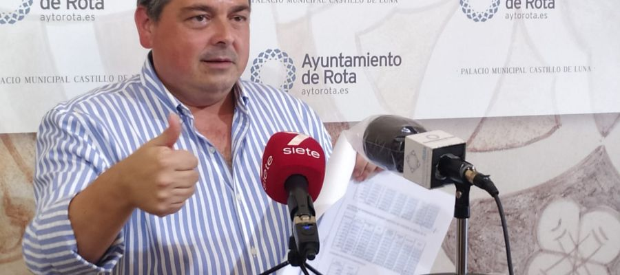 Daniel Manrique, portavoz del Gobierno de Rota