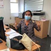 Patricia Segura es una joven concienciada con el peligro que supone el coronavirus también entre los jóvenes.