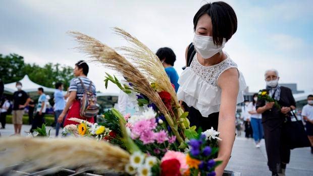Japón conmemora el 75 aniversario del ataque nuclear de Hiroshima