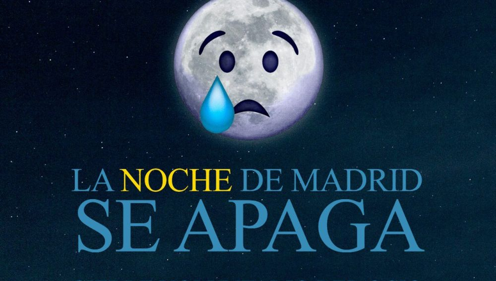 'La noche de Madrid se apaga', la campaña del ocio nocturno en protesta por las medidas contra el coronavirus