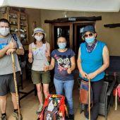 Peregrinos en tiempos de pandemia