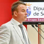 Máximo San Macario, portavoz del PSOE en Segovia