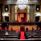 Vista del Parlament de Cataluña