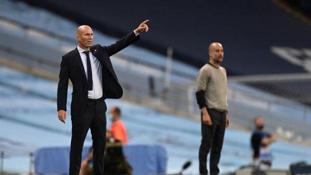 """Zidane: """"Soy entrenador del Real Madrid, no hay más preguntas que hacer"""""""