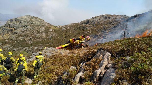 Un muerto y un herido grave en un accidente de hidroavión en Ourense