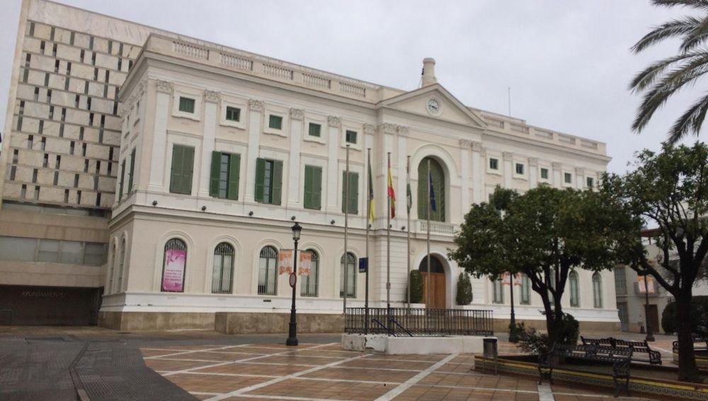 El Ayuntamiento de El Puerto en una foto de archivo