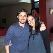 Miguel Poveda con Carmen Paúl