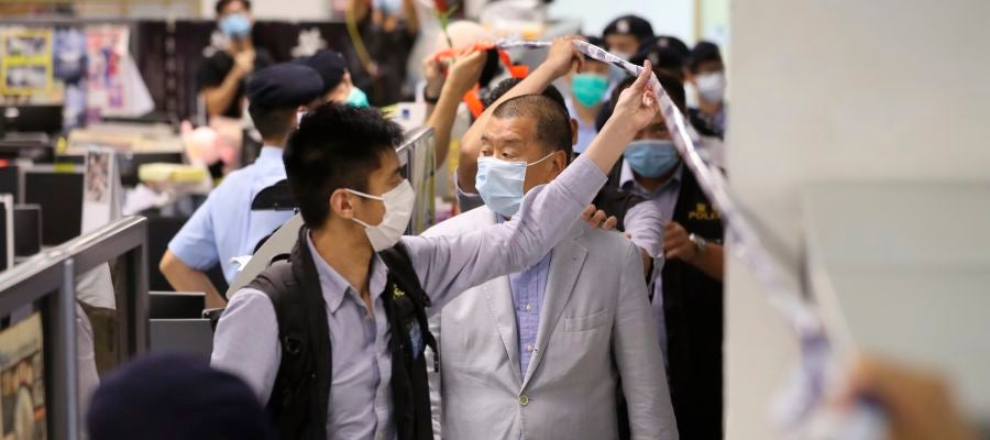 Magnate de los medios hongkoneses, Jimmy Lai