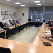 Reunión del consejero Luengo con organizaciones agrarias