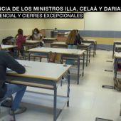 """laSexta Noticias 14:00 (27-08-20) El Gobierno plantea que el cierre de colegios sea """"excepcional"""" y consensuado con Sanidad y las CCAA"""
