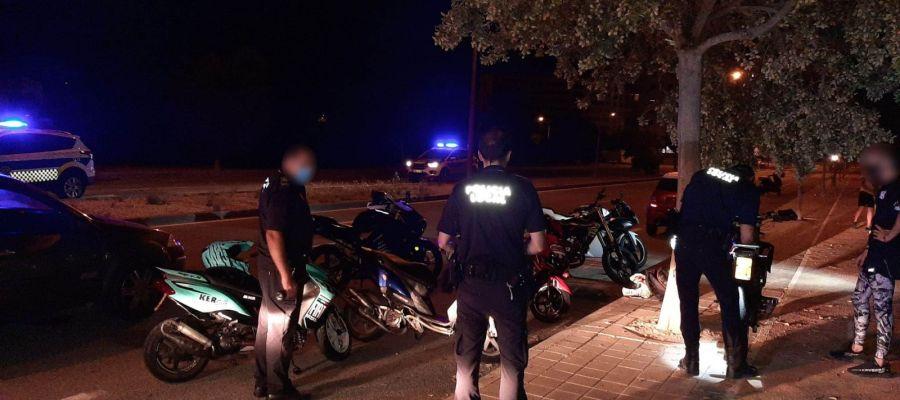 Intervención de la Policía Local