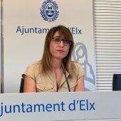 Patricia Maciá, concejala de Gestión Tributaria.